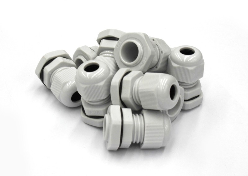 PG16 Grey Cable Gland