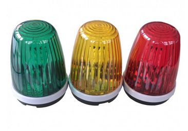 Flashing or Continuous LED Green Warning Light, 12~24 VAC/DC
