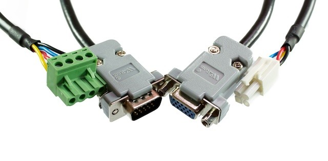 Power and Encoder Cables for Servo Motor 5 metres