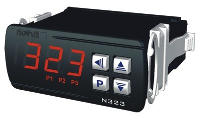 N323 Thermostat Controller with JKT T/C Sensor input, Modbus RS-485, 24 VDC or AC
