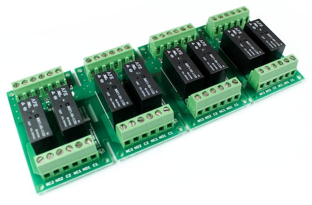 Eight 12VDC Relay Card