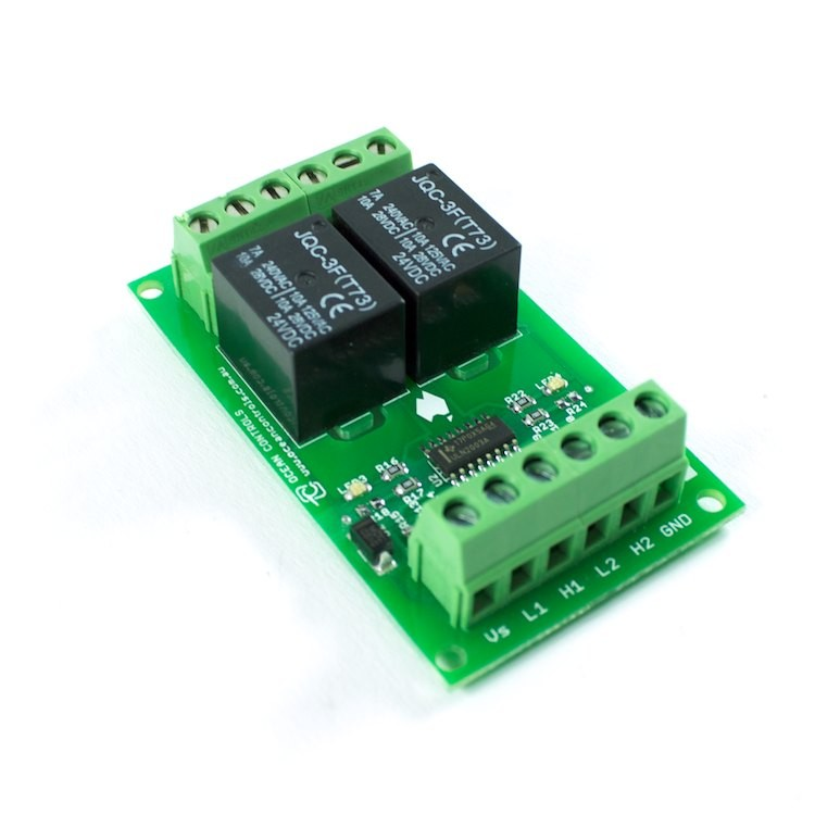 Two 24VDC Relay Card