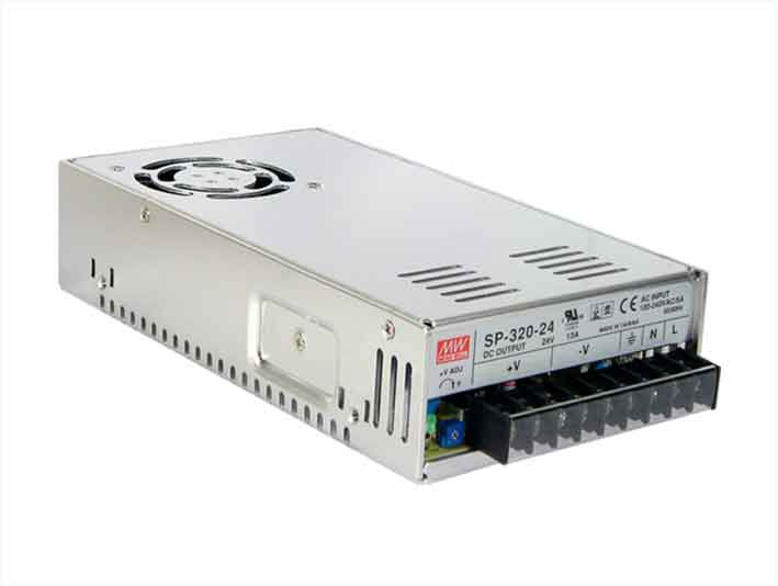 320W MeanWell RSP-320-36 Single Output Switching Power Supply: 36 VDC Output