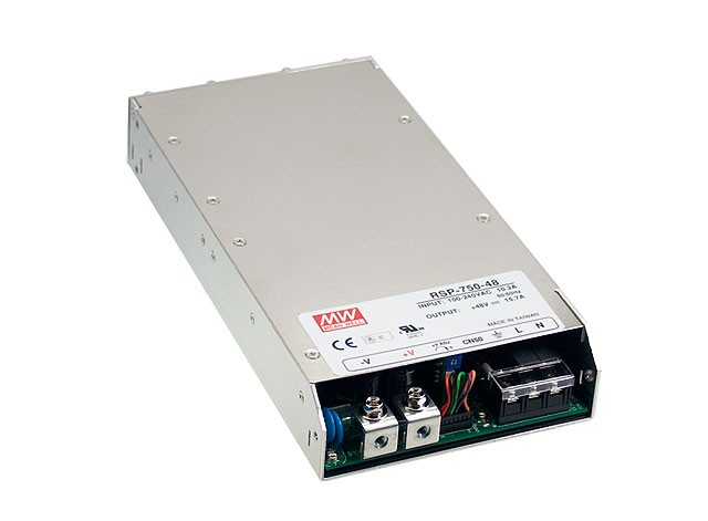RSP-1000-12 1000W Mean Well Single Output Switching Power Supply: 12 VDC Output
