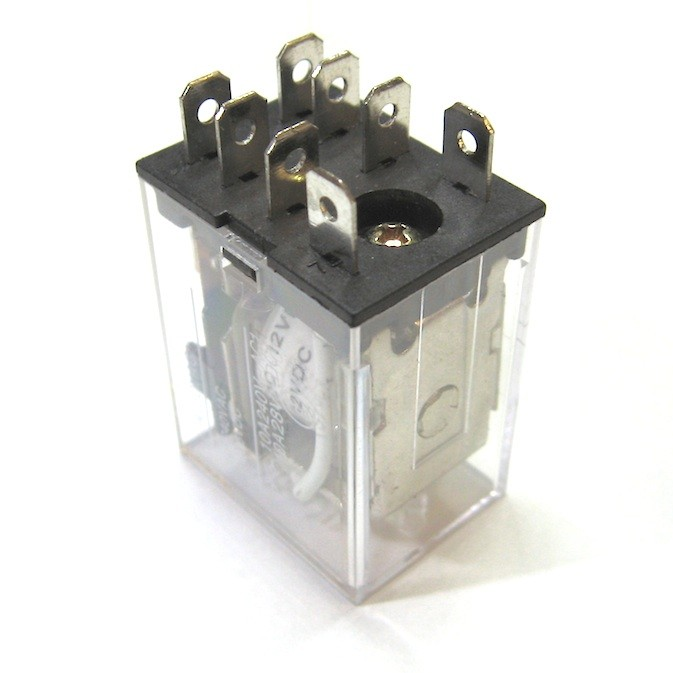 10 A DPDT Relay with 240 VAC Coil