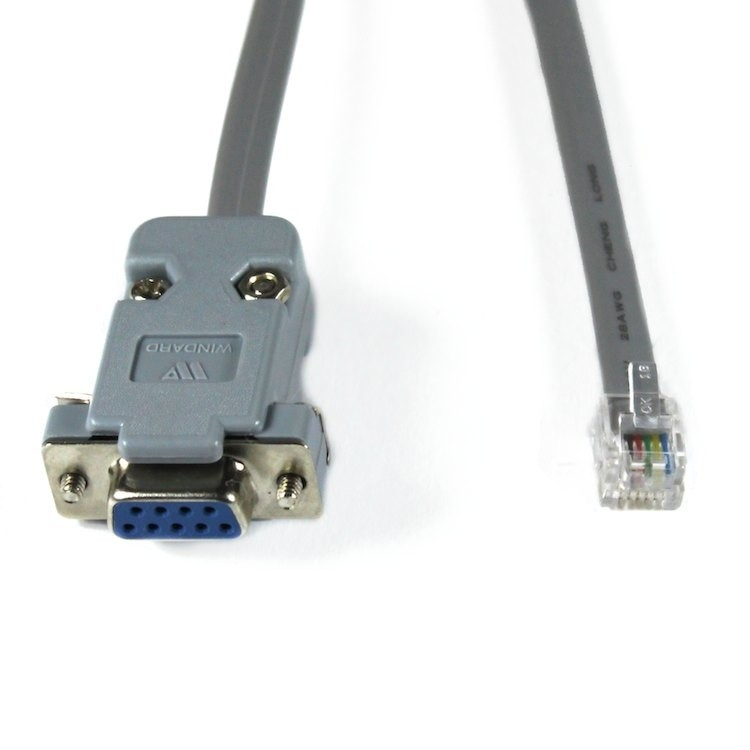 RJ12 Serial Tuning Cable for Leadshine Drives