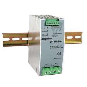 DR-UPS40 DIN Rail Mount Battery Monitor 24 VDC