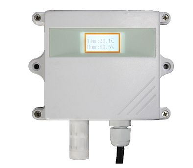 RK330-02 Temperature and Humidity Sensor with Display and 4 to 20 mA output