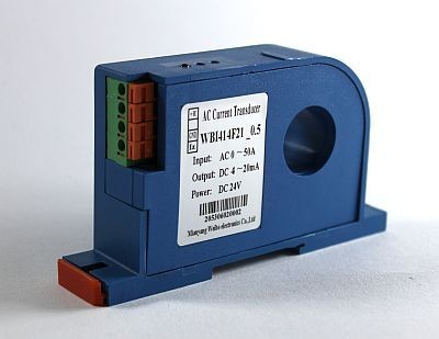 Current Transducer 0-50A AC In, 0-5V Out, 12VDC ID25