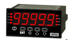 Load Cell 1 mV/V Panel Meter with 2 Relays, Analog Output, RS-485 24VDC