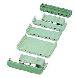 72 mm Series Modular DIN Rail Mounts - End Cap