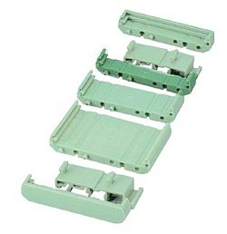 72 mm Series Modular DIN Rail Mounts - 11.2 mm Base Section