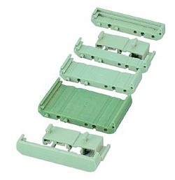 72 mm Series Modular DIN Rail Mounts - 44.8 mm Base Section