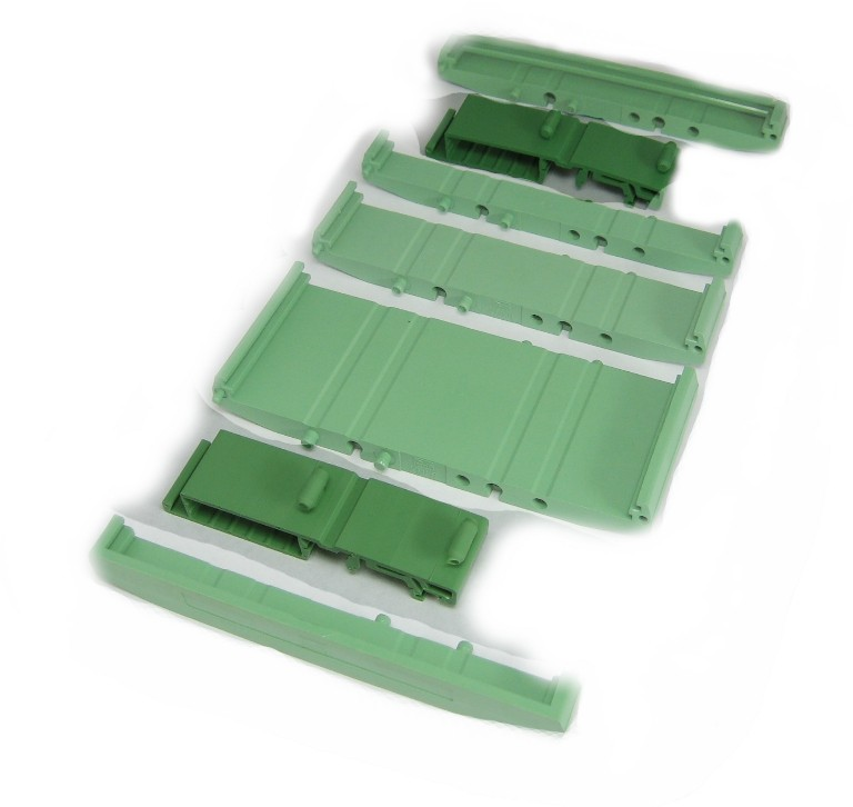 107 mm Series Modular DIN Rail Mounts - Base Mount Clip