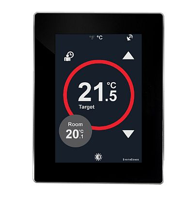 Touchscreen Thermostat With BACnet MS/TP Communication 24VAC/DC