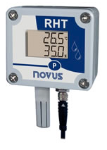 RHT-WM Modbus Temperature and Humidity Transmitter with LCD