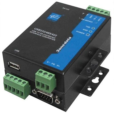 Isolated USB to RS-232/RS-422/RS-485 Converter