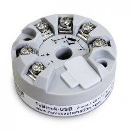TxBlock-USB Non Isolated Head Mount Module 4-20mA