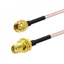 SMA male to SMA female cable 2M