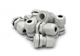 PG19 Grey Cable Gland