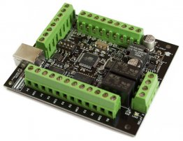 USB Serial Stepper Motor Controller