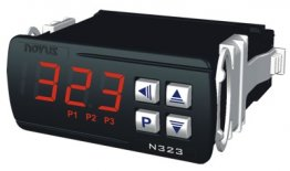 N323-PT100-485 Thermostat Controller with PT100 Sensor input, Modbus RS-485, 24 VDC or AC