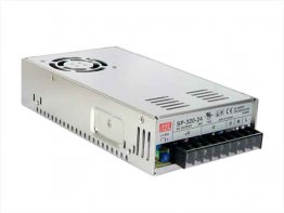 320W MeanWell RSP-320-24 Single Output Switching Power Supply: 24 VDC Output