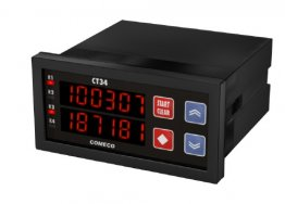 CT34 Combination 6 Digit Counter and 6 Digit Rate Meter 12-24V