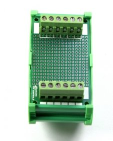 42 x 72 mm DIN Rail With Proto-Board