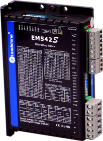 EM542S, 4.2 A, Open-Loop Stepper Driver