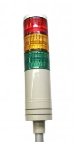 24VDC Multi-Level Signal Tower (Red, Yellow, Green) + Buzzer