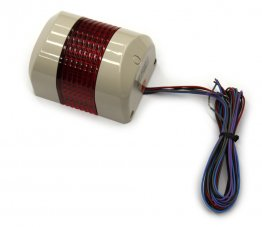 WMS Wall Mount Signal Tower (Red) + Buzzer