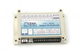 Ocean Controls Modbus TCP I/O Module 8DO+4DI+3AI