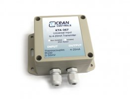Universal Input to 4-20mA Transmitter with IP65 Rating
