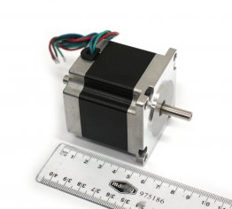1.85 N.m NEMA 23 Open-Loop Dual Shaft Stepper Motor