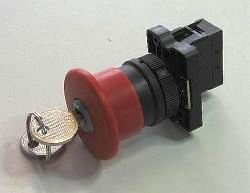 HB2 Emergency Stop Push Button Key Release