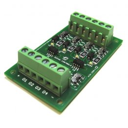 4 Channel Opto-Isolator Card