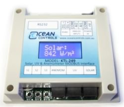 UV-Solar-Wind Modbus Module with LCD