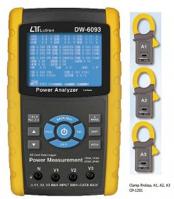 DW-6093 3-Phase Power Analyser