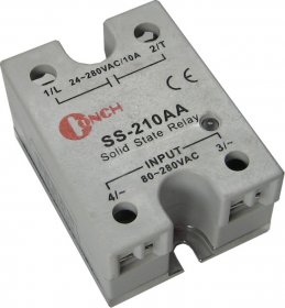 SS-240DA 4 to 32 VDC In, 40 A, 240 VAC Switch SSR