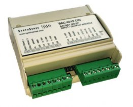 BACnet MS/TP IO-Module 2DI,2AI,4AO,2DO DIN Rail