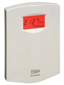 CDRC-AL-LCD Room CO2 Alarm Unit with LCD, 4-20mA Outputs