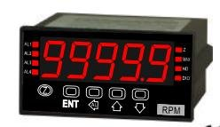 Load Cell 2 mV/V Panel Meter with 2 Relays, Analog Output, RS-485 24VDC