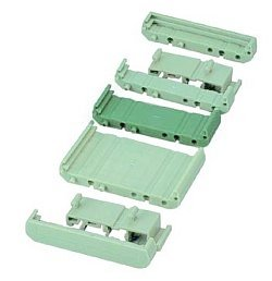 72 mm Series Modular DIN Rail Mounts - 22.4 mm Base Section