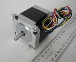 0.88 N.m NEMA 23 Open-Loop Dual Shaft Stepper Motor