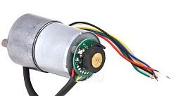 Dis 50:1 12VDC Gearmotor with 64CPR Encoder