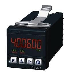 NC400 6 Digit Counter with 1 Relay and 1 Pulse Output, RS-485, 24V