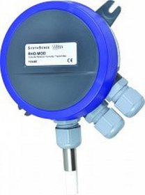 Outside Wall Mount Temperature and Humidity Transmitter with BACnet MS/TP Comms