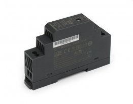 15W Mean Well HDR-15 Ultra Slim DIN Rail Supply 24V Out