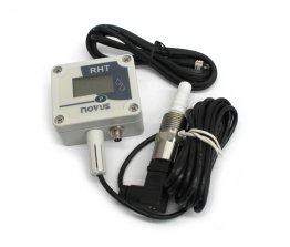 RHT-P10 Temp and Humidity Transmitter with Sealed Remote Sensor, Modbus RTU
